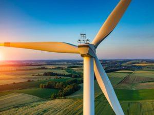 Inspección aérea de parques eólicos mediante drones