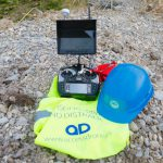 Accessdrone cuenta con drones equipados con cámaras termográficas, para tomar imágenes basadas en la temperatura de los objetos captados.