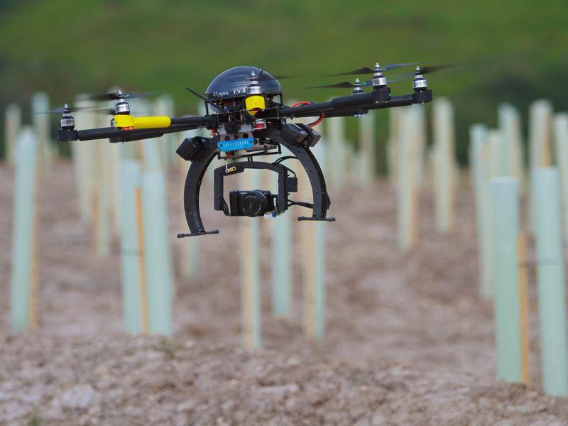 Los drones de Accessdrone están preparados para captar imágenes de valor en sus inspecciones técnicas