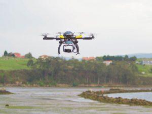 El uso de drones para inspecciones de edificaciones y sus entornos facilita la detección de defectos