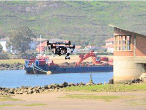 El uso de drones facilita el acceso a estructuras industriales complejas