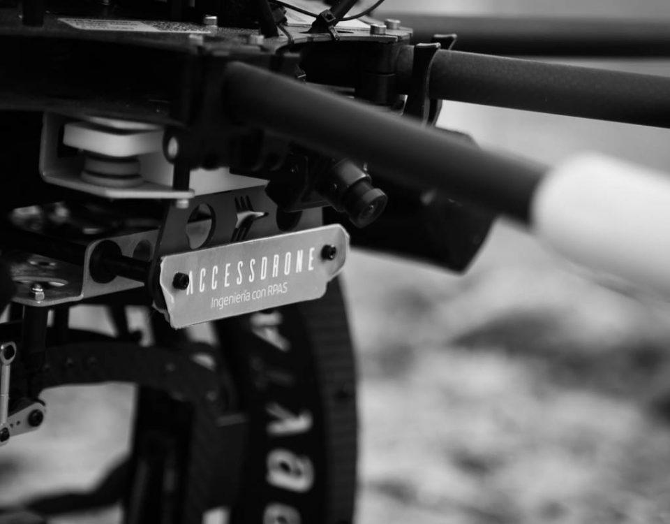 Dron FV8 Atyges, primer plano